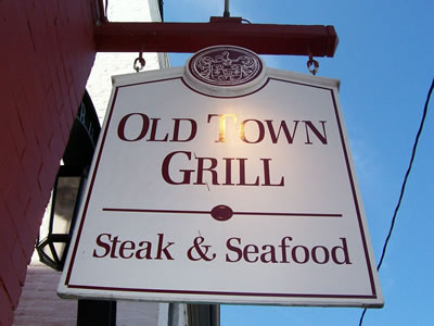 Old Town Grill Steak & Seafood, Leesburg, Virginia